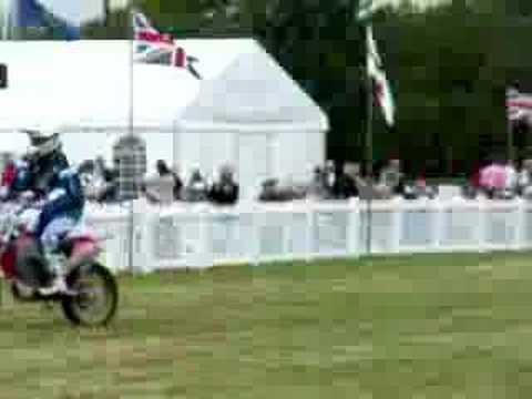 Motor bikes at cheshire show 2008