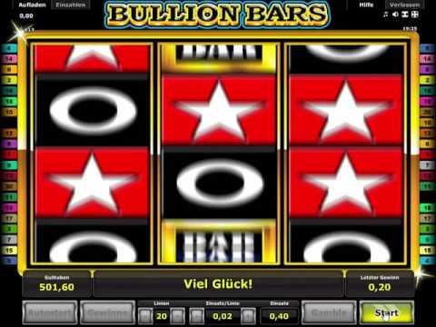 Bullion Bars - Novoline Spielautomat Kostenlos Spielen