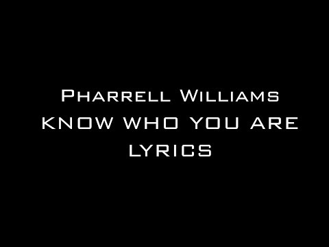 Free Download Pharrell Williams Ft. Alicia Keys - Know Who You A Mp3 dan Mp4
