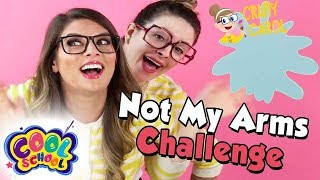 Arts and Crafts with Crafty Carol | Not My Arms Challenge! | With Ms Booksy! | Crafts for Kids