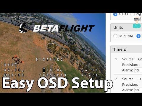 Betaflight Easy OSD Setup
