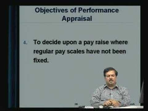 Lecture - 22 Performance Appraisal 1