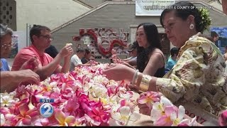 City seeks 3,000 more lei for Memorial Day ceremony