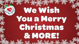 We Wish You a Merry Christmas and More Christmas Songs and Carols with Lyrics 🌟