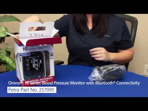 Spotlight On Omron's  10 Series Blood Pressure Monitor With Bluetooth® Connectivity