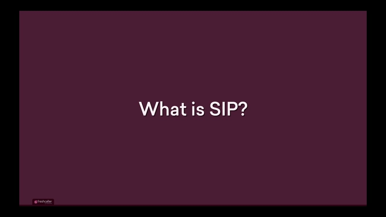 What is SIP connectivity? How to enable it from Freshcaller