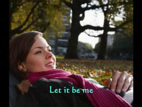 Let It Be Me...Petula Clark