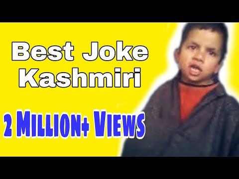 Abc reciting in A new way by a kashmiri boy