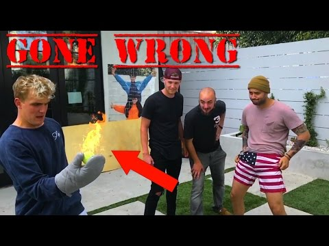 Breaking EXTREME World Records w/ Jake Paul (GONE WRONG)