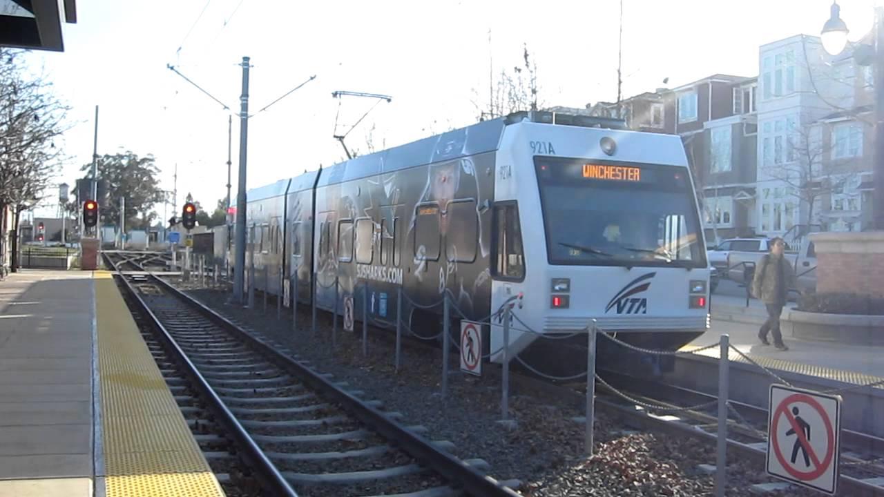 VTA Light Rail @ San Jose Diridon Station California Valley Transportation  Authority   YouTube
