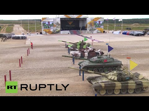 World Championship Tank Biathlon 2015 finals