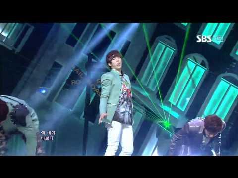 U-KISS [DORADORA(돌아돌아)] @SBS Inkigayo 인기가요 20120429