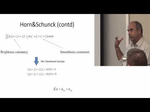 Lecture 7 - Optical Flow - 2014