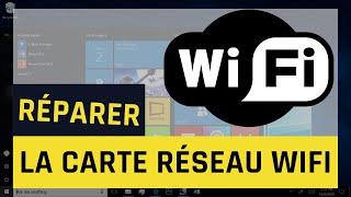 Comment Reparer Le Wifi Et Resoudre Les Problemes Avec La Carte Reseau Sans Fil Sous Windows 10 Youtube