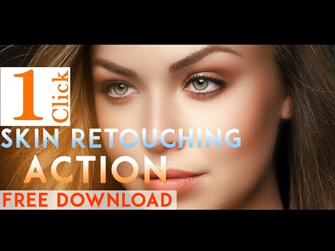 1 Click Retouching Photoshop Action Free Download By Editing Studio