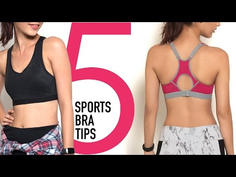 Thumbnail: How To Choose a Sports Bra with 5 Tips And Tricks