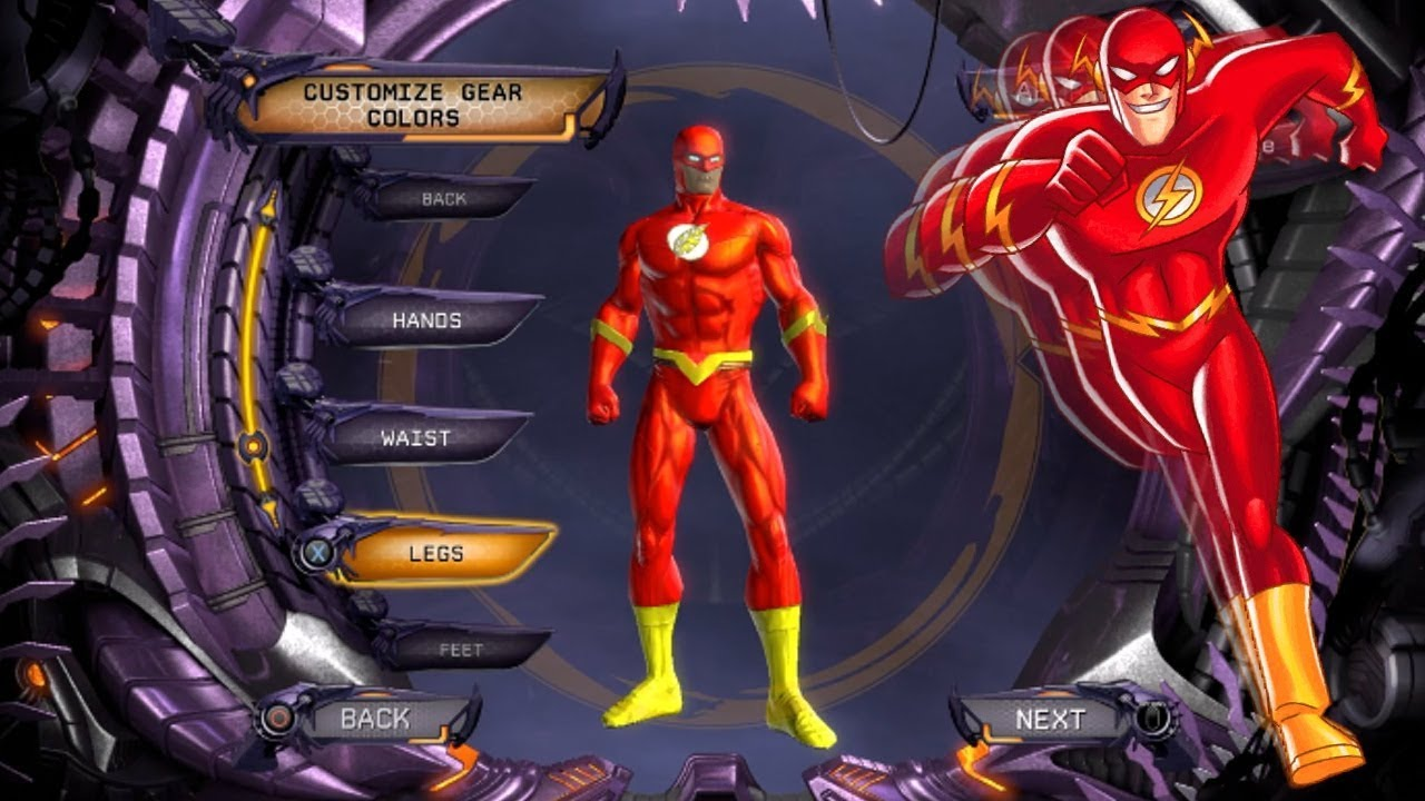 dcuo create the perfect flash in a flash ps4 xbox one pc ps3 youtube. Black Bedroom Furniture Sets. Home Design Ideas