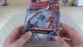 Мини-фигурки Мстителей Hasbro Железный Человек против дрона Альтрона.mov