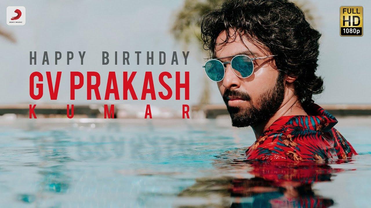 Celebrating G V Prakash Kumar | Happy Birthday G V Prakash | G V Prakash Mashup 2021