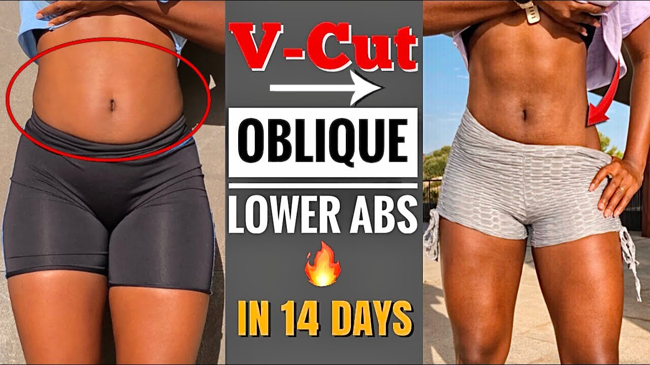 15 Min V-CUT AB WORKOUT // Get Oblique & Lower Abs In Just 2 Weeks