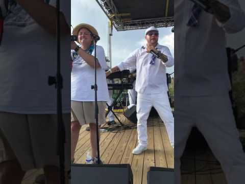 CJay Bell Uptown Funk at Emerald Isle Beach Music Festival Aug 2016
