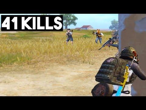 ALMOST A NEW WORLD RECORD!   41 KILLS Duo Vs Squad   PUBG Mobile