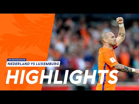 Highlights Nederland - Luxemburg (9/6/2017)