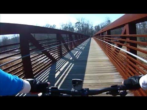 Mountain Biking The Neuse River Trail Raleigh, North Carolina - Part II - March 2, 2014