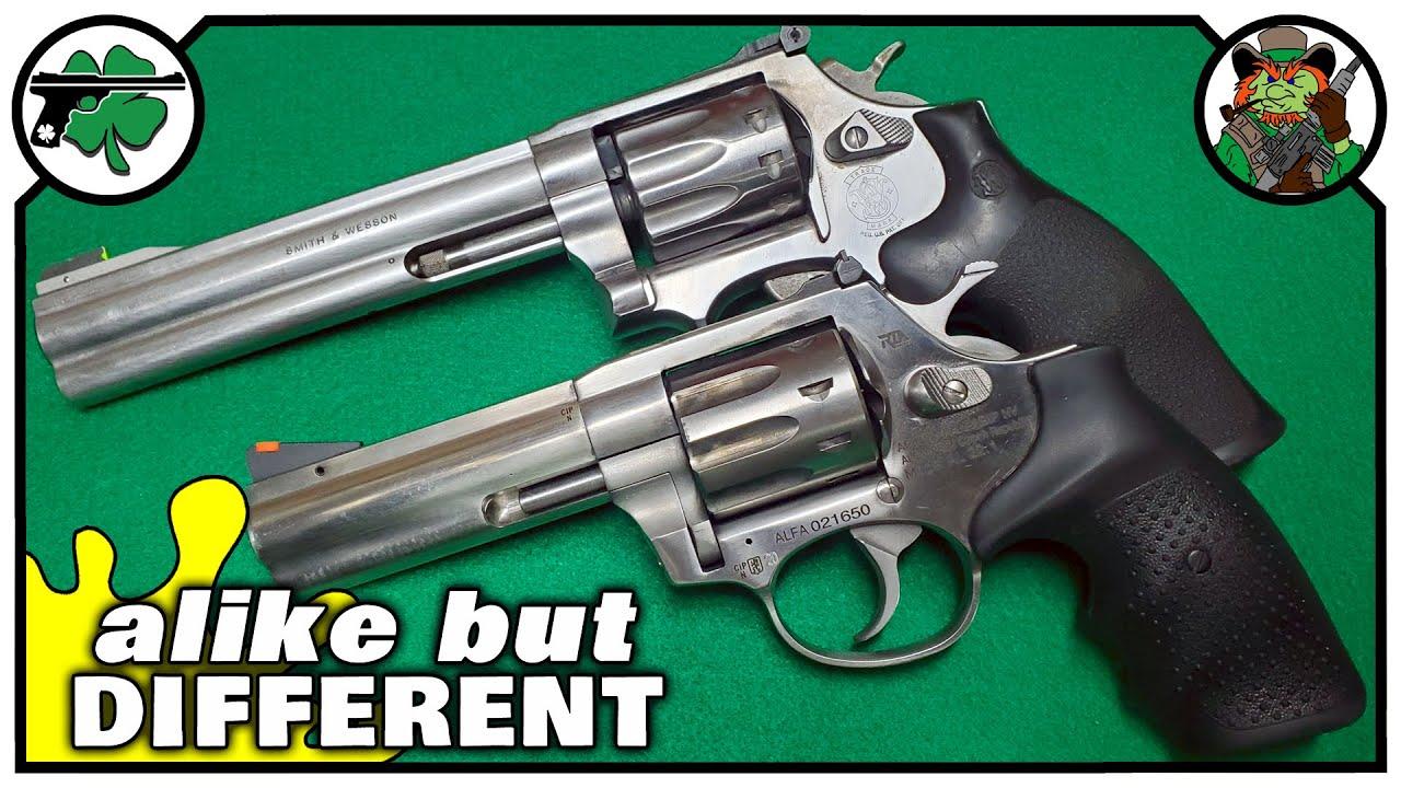 RIA AL22 -vs- S&W 617 | Revolver Bench Battle