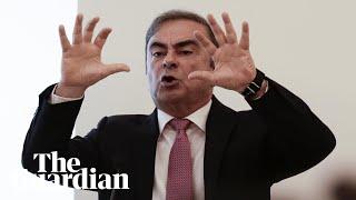Carlos Ghosn blames Nissan conspiracy for arrest in Japan