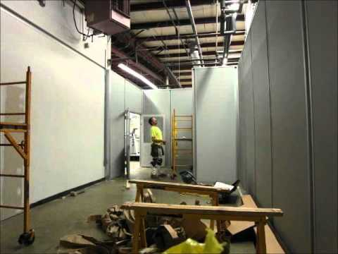Modular Building Install 1