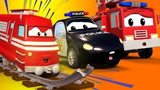 Car Patrol of Car City - Police Car Cartoons & Fire Truck Videos for Kids 🚒 🚓 Cartoon for Children