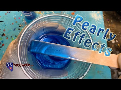 How Much Mica Pearl Powder to add to Resin | Resin Casting Quick Tips