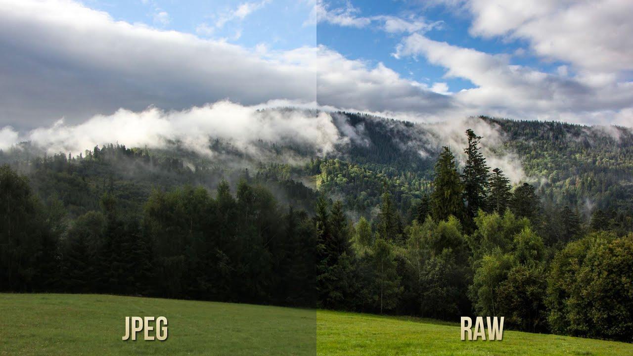 RAW vs JPEG comparison - Canon EOS 60D - YouTube