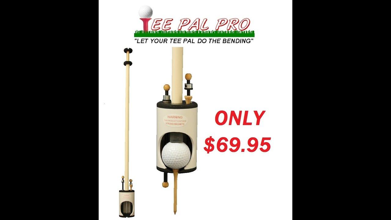 Tee Pal Golf Ball Teeing Aid and Ball Retriever The ...