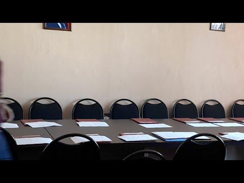Первое заседание Собрания депутатов муниципального образования город Кимовск Кимовского района 21.09