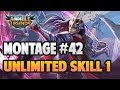 - LANCELOT UNLIMITED SKILL 1 VERY SATISFYING | MONTAGE #42 | RANK HIGHLIGHT | MOBILE LEGENDS BANG BANG