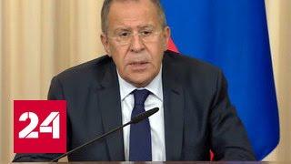 Сергей Лавров: санкции снова вводятся на ровном месте