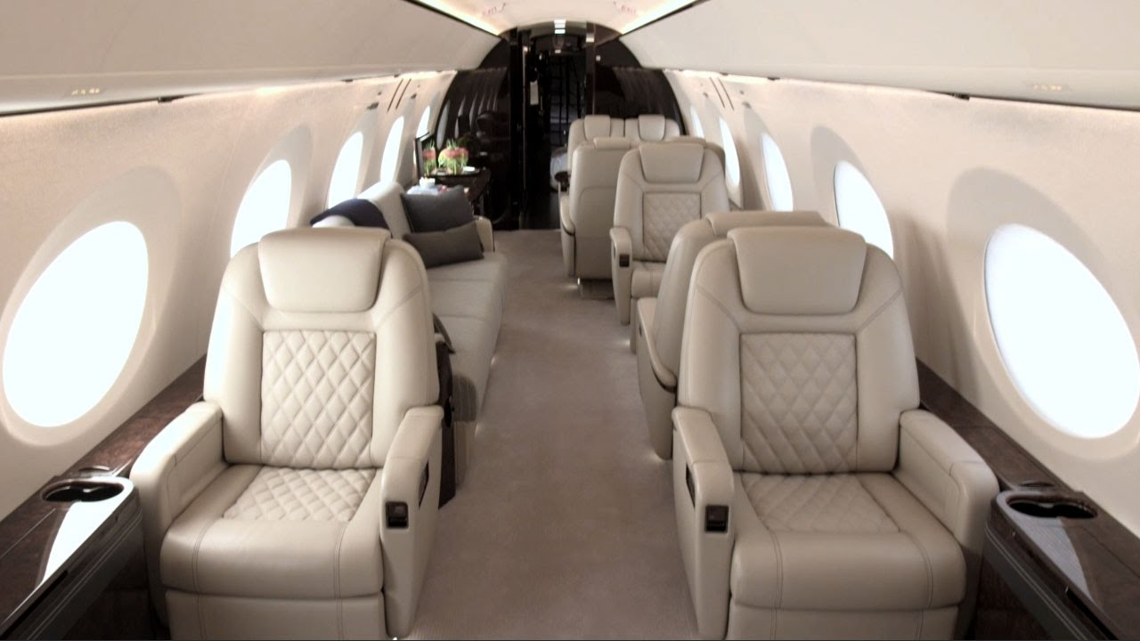 Gulfstream G500 With Full Production Interior Debuts At 2016 Nbaa Show Aintv