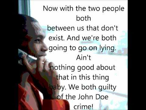 john doe public announcement with lyrics