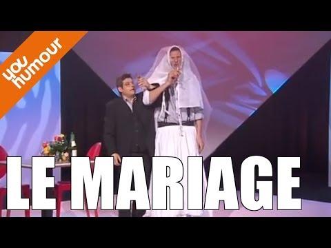 Jean Lou DE TAPIA et Jacky MATTE, Le mariage