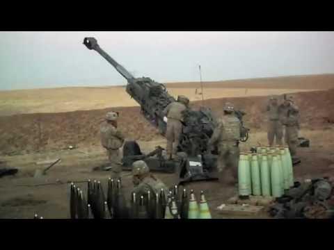 NATO Unclassified: 09-18-16. Coalition Strike Soldiers Launch Artillery Raid on Terrorists in Iraq