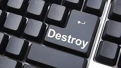 Easily delete unwanted online accounts