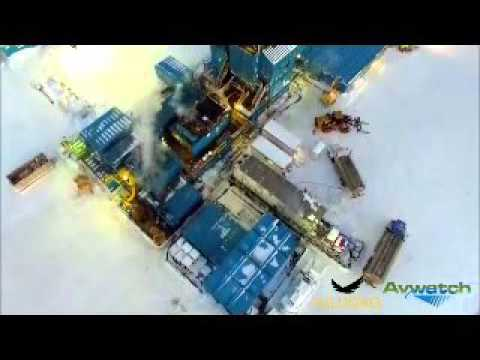 Drone Video of Drilling Operations - Icewine1 - 88 Energy Ltd