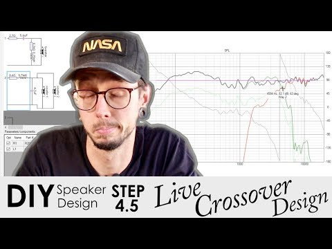 How To Design A DIY Crossover Using Free Software | Live Crossover Design