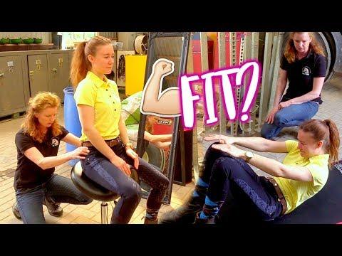 Fit4Riding #2 Mijn houding, zit en soepelheid testen! | felinehoi
