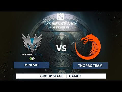Mineski Dota vs TNC Pro Team  Groupstage  The International 7  Southeast Asia Qualifiers  Philippine