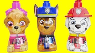 paw patrol bath soap stovetop kitchen faucet playset with working water pump surprises