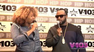 Rico Love At The V-103 Hip Hop Conference With Ramona DeBreaux