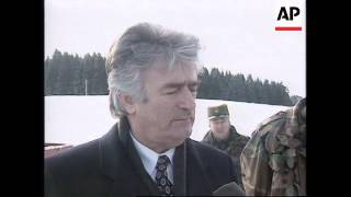 BOSNIA: RADOVAN KARADZIC INTERVIEW